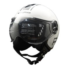 Helm Cargloss YR Protect Helm Half Face - Sp. Whity White