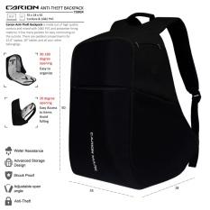 Toko Carion Tas Ransel Anti Theft Laptop Backpack Pria Wanita Daypack 710024 Yang Bisa Kredit