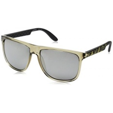 Carrera CA5003S Rectangular Sunglasses, Gray Camel Sand & Black Mirror, 58 mm