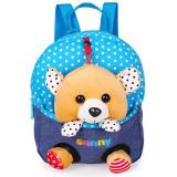 Jual Kartun Anak Anak Sch**l Bags Baby Backpack Tas Boneka Travel Backpack Beruang Biru Online Tiongkok