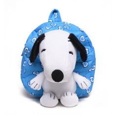 Kartun Anak Balita Bayi Anak Laki-laki Perempuan Bayi TK Sekolah Dasar Kartun Lucu Anak 'S Schoolbag Kindergarten Bayi Bahu Tas Snoopy anjing 1-3 Tahun Ransel Lucu Ransel-Internasional
