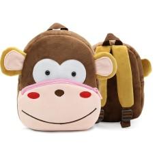 Harga Kartun Anak Balita Baby Boy G*rl Bayi Taman Kanak Kanak Sekolah Dasar Cute Zoo Children S Schoolbag Double Shoulder Bag Boneka Knapsack Hewan Monyet Cute Backpack Intl Tiongkok