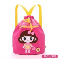 Kartun Anak Balita Baby Boy Girl Bayi Taman Kanak-kanak Sekolah Dasar Gaya Korea Seni Kain Baju Wanita Ladies Putri Tas Putri Pocket Girl Pocket Bag Koleksi Tas Cute Backpack-Intl