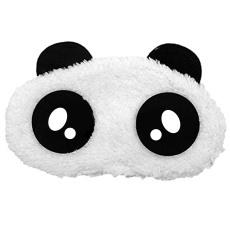 Gambar Kartun Panda Kembang Tidur Masker Mata Menutupi Warna Tambalan Maskara Nap Tidur Istirahat Perjalanan Gaya