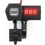 Jual Casan Hp Di Stang Universal Car Charger Gma Handphone Dual Usb Led 2 In 1 Nmax Voltmeter N Max Lengkap