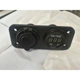 Beli Casan Hp Motor Nmax Voltmeter 2A Murah Indonesia