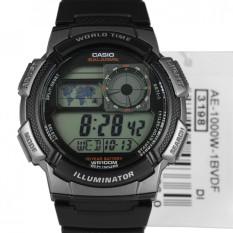 casio AE-1000W-1B 10TH Karet (Black)