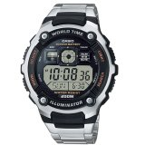 Top 10 Casio Ae 2000Wd 1Avdf Jam Tangan Pria Silver Hitam Stainless Band Online