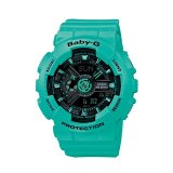 Situs Review Casio Analog Digital Baby G Ba 111 3A Women S Watch Green