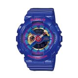 Review Casio Analog Digital Baby G Ba 112 2A Women S Watch Blue Casio Di Banten