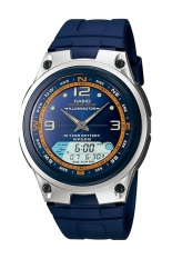 Spesifikasi Casio Analog Digital Fishing Gear Watch Aw 82H 2Avdf Jam Tangan Pria Karet Biru