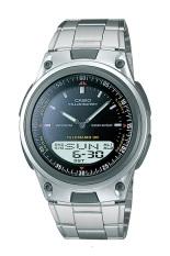 Casio Analog Digital Watch AW-80D-1AVDF - Jam Tangan Pria -Stainless steel band