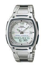 Beli Casio Analog Digital Watch Aw 81D 7Avdf Jam Tangan Pria Stainless Steel Band Cicil