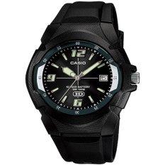 Casio Analog Jam Tangan Pria - Hitam - Strap Karet - MW-600F-1A 44d5f89068