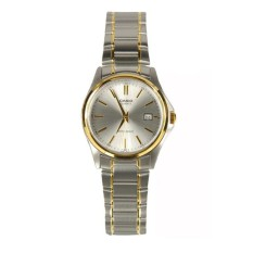 Casio Analog LTP-1183G-7A - Jam Tangan Wanita - Silver & Gold - Stainless Steel Band