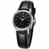 Review Toko Casio Analog Men S Watch Black Leather Band Mtp 1095E 1A Intl Online