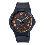 Beli Casio Analog Men S Watch Black Resin Band Mw 240 4Bv Intl Cicilan