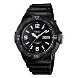 Casio Analog Mrw 200H 1B2V Men S Watch Black Grey Terbaru