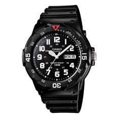 Beli Casio Analog Mrw 200H 1Bv Men S Watch Black Terbaru