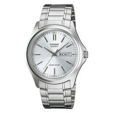 Jual Casio Analog Mtp 1239D 7A Jam Tangan Pria Silver Stainless Steel Band Casio Di Indonesia