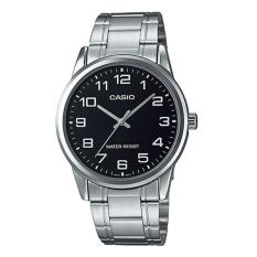 Casio Analog Mtp V001D 1B Jam Tangan Pria Silver Stainless Steel Band Di Indonesia