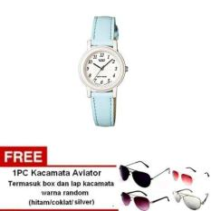 Casio Analog Watch LQ-139L-2BDF – Jam Tangan Wanita – Biru Muda –