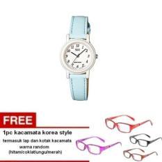 Casio Analog Watch LQ-139L-2BDF - Jam Tangan Wanita - Biru Muda -
