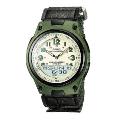 Beli Casio Aw 80V 3Bvdf Youth Combination Sports Series Jam Tangan Black Green Seken