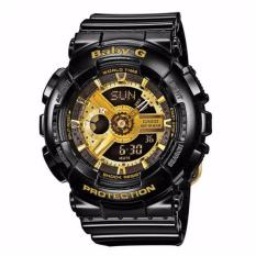 Casio BABY-G BA-110-1ADR - Analog-Digital - Multifunction - Jam Tangan Wanita - Bahan Tali Resin - Hitam
