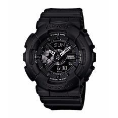Harga Casio Baby G Ba 110Bc 1A Women S Resin Strap Watch Black Asli Casio Baby G