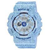 Beli Casio Baby G Ba 110Dc 2A1D Jam Tangan Wanita Rubber Strap Navy Hitam Yang Bagus
