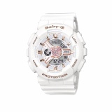 Jual Casio Baby G Ba 110Lb 7Adr Women S Resin Strap Watch Silver Casio Baby G Asli