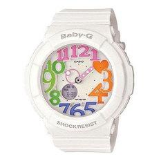 Harga Casio Baby G Bga 131 7B3Dr Neon Illuminator Jam Tangan White Terbaru