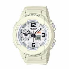 Casio Baby-G BGA-230-7B2 Kombinasi Analog Jam Digital untuk Wanita Putih-Intl