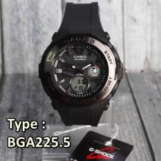 Kualitas Casio Baby G Bga225 5 Full Black Jam Tangan Wanita Anak Anak Fashion Jam Tangan