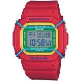 Promo Casio Baby G Jam Tangan Digital Wanita Merah Strap Resin Bgd 501 4B Murah