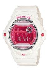 Toko Jual Casio Baby G Jam Tangan Wanita Putih Merah Resin Bg 169R 7D