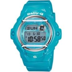 Casio BABY-G Seri BG169G Seri BG-169R-2B Glossy Blue Whale Resin Band Wanita/Ladies Watches Champagne Watch Sport WatchesGift untuk Wanita/Gadis/Wanita-Intl