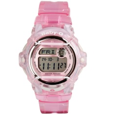 Casio BABY-G Seri BG169G Seri BG-169R-4 Pink Strap Resin Band Wanita/Ladies Watches Champagne Watch Sport WatchesGift untuk Wanita/Gadis/Wanita-Intl