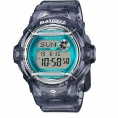 Casio BABY-G Seri BG169G Seri BG-169R-8B Hitam Strap Resin Band Wanita/Ladies Watches Champagne Watch Sport WatchesGift untuk Wanita/Gadis/Wanita-Intl