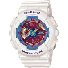 Beli Casio Baby G Women S Blue Resin Strap Watch Ba 112 7A Lengkap