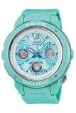 Beli Casio Baby G Women S Soft Blue Resin Strap Watch Bga 150F 3A Intl Casio Baby G Online