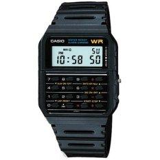 Model Casio Ca 53W 1Z Digital Calculator Men S Watch Black Terbaru