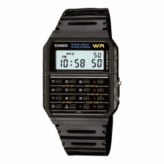 Casio CA-53W-1Z - Jam Tangan Pria - Calculator - Kalkulator - Black