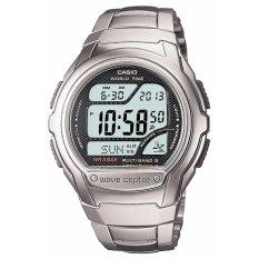 [CASIO] CASIO Watch WAVE CEPTOR Wave Tongkat Digital Model Radio Controlled Watch MULTI BAND 5 WV-58 DJ-1AJF Pria 's-Intl
