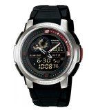 Beli Casio Analog Digital Aqf 102W 1B Jam Tangan Pria Black Resin Band Di Indonesia