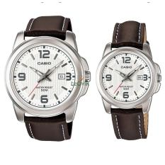 Harga Casio Couple Mtp Dan Ltp 1314L 7A Jam Tangan Couple Brown Strap Leather Lm Asli