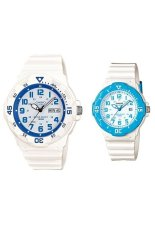 Beli Casio Couple Watch Jam Tangan Couple Putih Strap Karet Sporty Couple Online Indonesia