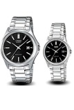 Review Pada Casio Couple Watch Jam Tangan Couple Silver Strap Stainless Steel 1183A 1A