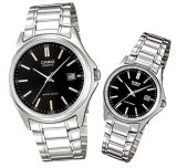 Casio Cp004 Couple Watch Silver Stainless Steel Casio Murah Di Indonesia